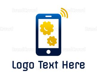 Technician - Phone Technician logo design