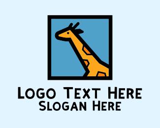 Frame - Giraffe Frame logo design