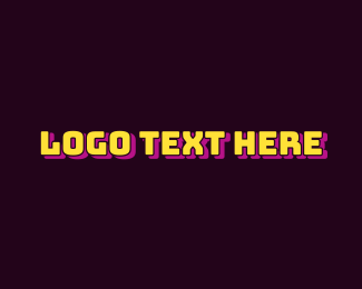 Bold - Yellow Bold Business logo design