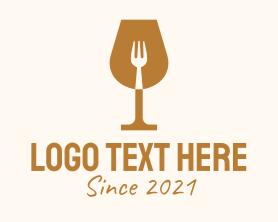 """""""Restaurant Fork Wine Glass """" by JimjemR"""