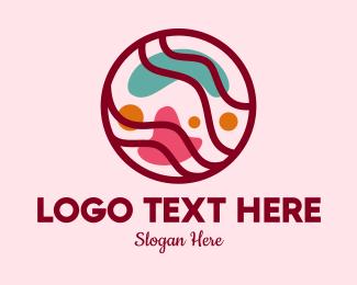Brand - Abstract Beauty Brand logo design