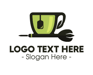 Tea - Tea Cup Dart logo design