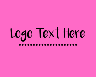 Black And Pink - Mexican Pink logo design
