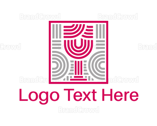 Outlines - Wine Mosaic logo design