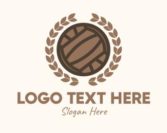 Honorary - Laurel Water Polo Ball  logo design