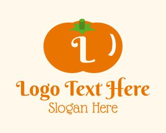 Pumpkin - Halloween Pumpkin Letter logo design