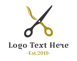 Hairdresser - Hairdresser Scissors logo design