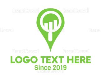 Research - Market Research logo design