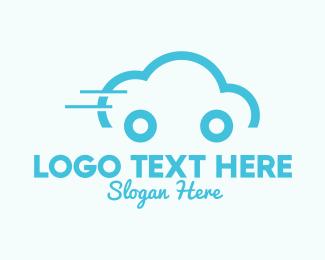 Car Service - Cloud Car logo design