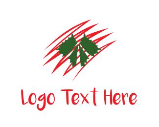 Grape - Grape Leaves logo design