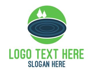 Lake - Blue Lake logo design