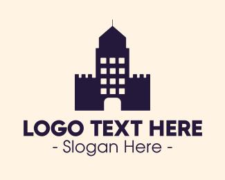 Skyscraper - Skyscraper Fort logo design