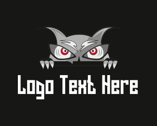 Villain - Evil Monster logo design