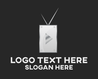 Tv - Media TV logo design