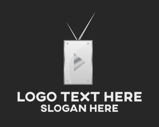 Cable - Media TV logo design
