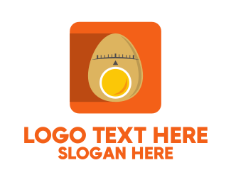 Location Service - Egg Location Pin App logo design