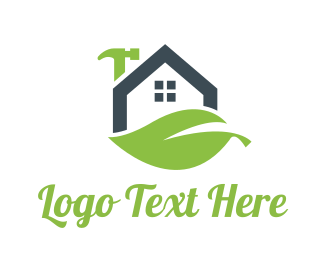 Tradesman - Eco House Repair  logo design
