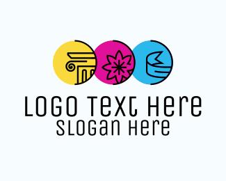 School - Architecture School logo design