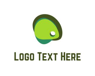 Mango - Olive Green logo design