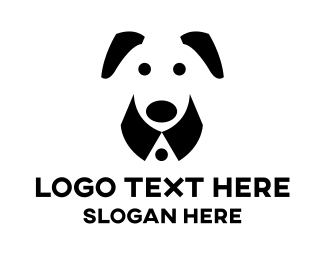 Veterinarian - Dog Suit logo design
