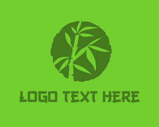 Apparel - BAMBOO Circle logo design