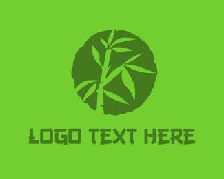 Bamboo - BAMBOO Circle logo design
