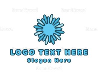 Sun - Splash Sun logo design