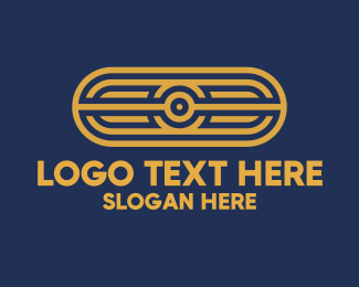 Podcast - Abstract Tribal Pattern logo design