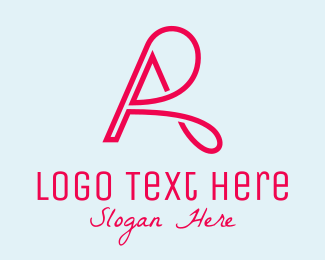 Ra - Letter A & R logo design