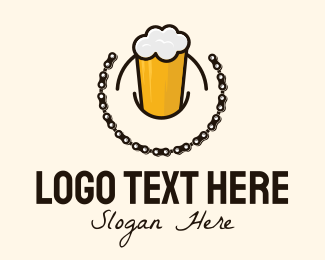 Cycle - Beer Brewery Chain logo design