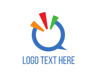 Corporate - Blue Letter Q  logo design