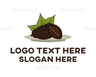 Cocoa - Cocoa Plant logo design