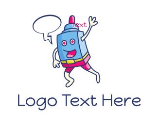 Vaping - Vape Robot logo design