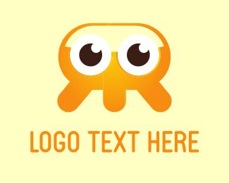 Tentacles - Baby Jellyfish logo design