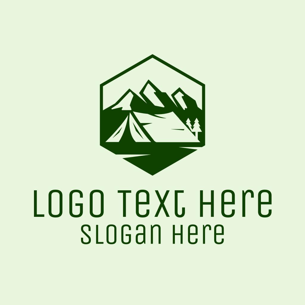 Mountain Camping Tent Logo | BrandCrowd Logo Maker