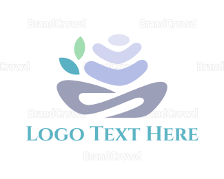 Gardening - Spa Flower logo design
