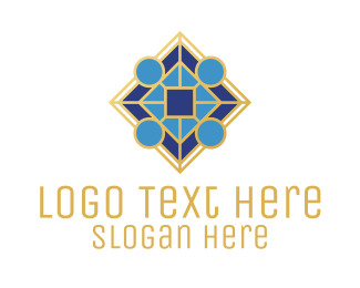 Company - Elegant Blue Company logo design