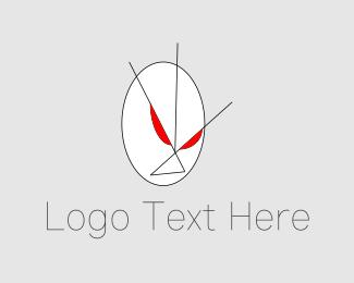 Aggressive - Furious Face logo design