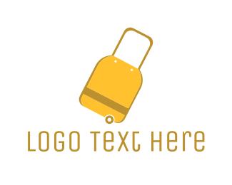 Bargain - Travel Luggage Bag logo design