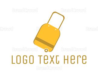 Wanderlust - Travel Bag logo design