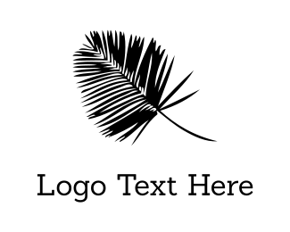 New Zealand - Black Palm logo design