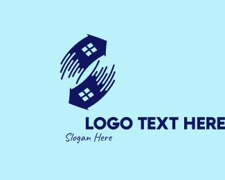 Cursor - Violet House Cursors logo design