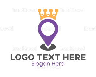 Map - King Maps logo design