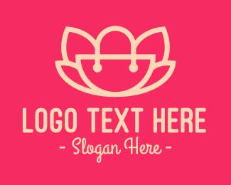 Trendy - Lotus Handbag logo design