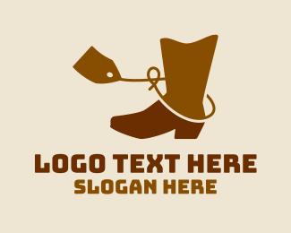 Boots - Cowboy Boot Sale  logo design