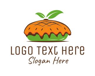 Baker - Organic Pie logo design