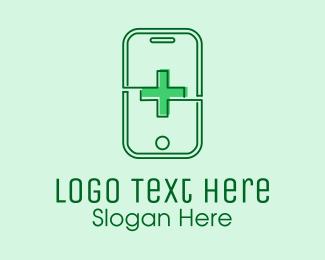 Contactless - Medical Mobile App  logo design