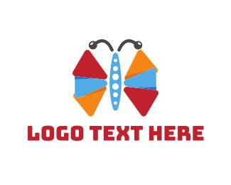 Wing - Play Wings logo design