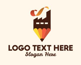 Art - Pencil Art Factory logo design