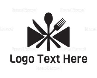 Butler - Dinner Bowtie logo design